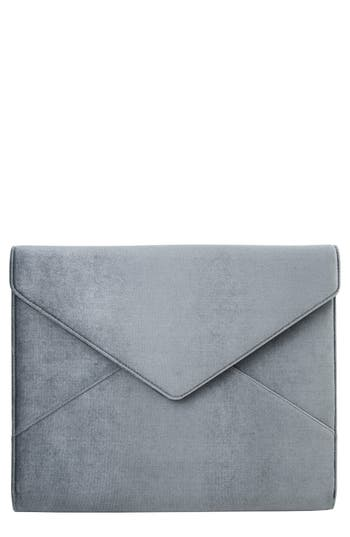 Sonix Powder Velvet Laptop Clutch - Blue