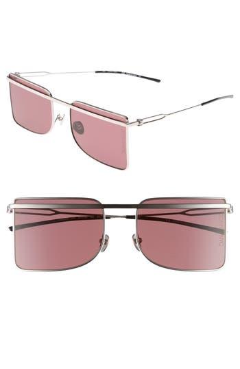Calvin Klein 205W39Nyc 5m Butterfly Sunglasses - Nickel