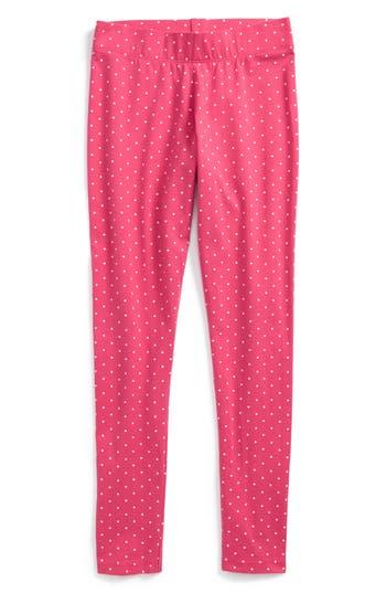 Girl's Mini Boden Fun Leggings, Size 4-5Y - Pink