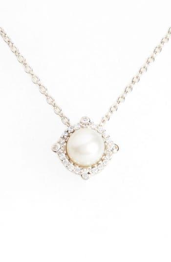 Women's Lafonn Simulated Diamond & Pearl Necklace