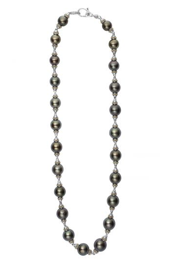 Women's Lagos Pearl Station Necklace
