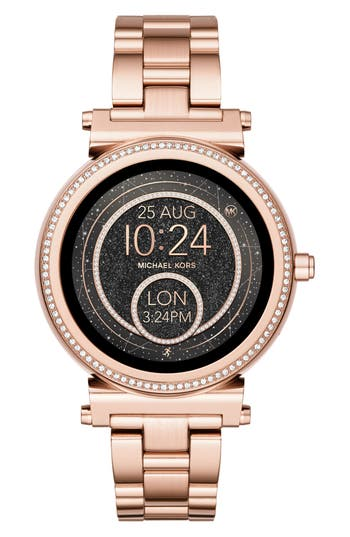Women's Michael Kors Access Sofie Smart Bracelet Watch, 42Mm