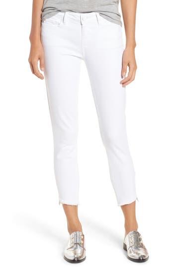 Verdugo Slanted Crop Skinny Jeans