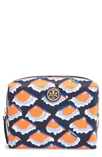 Tory Burch Brigitte Nylon Cosmetics Case, Size One Size - Fiori