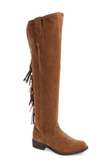 Ariat Farrah Fringe Over The Knee Boot, Brown