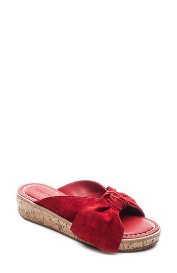 Women's Bernardo Petra Slide Sandal, Size 11 M - Red