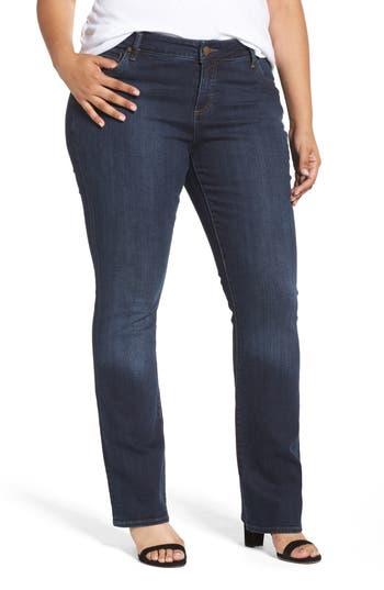 Plus Size Women's Kut From The Kloth Natalie High Waist Bootcut Jeans