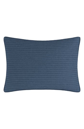 Nautica Lockridge Quilted Accent Pillow, Size One Size - Blue