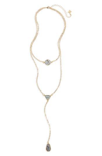 Women's Panacea Sunstone Multistrand Necklace