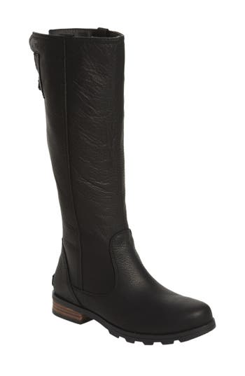 Sorel Emelie Premium Knee High Boot- Black
