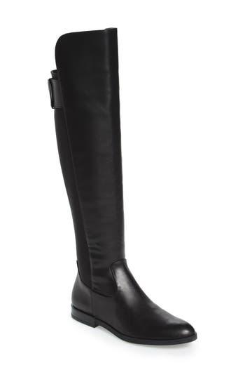 Calvin Klein Priya Over The Knee Boot, Black