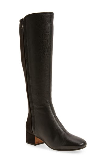 Gentle Souls By Kenneth Cole Ella-Seti Knee High Boot, Black