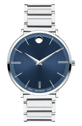 Movado Ultra Slim Bracelet Watch, 40Mm