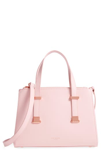 Ted Baker London Ameliee Leather Tote - Pink