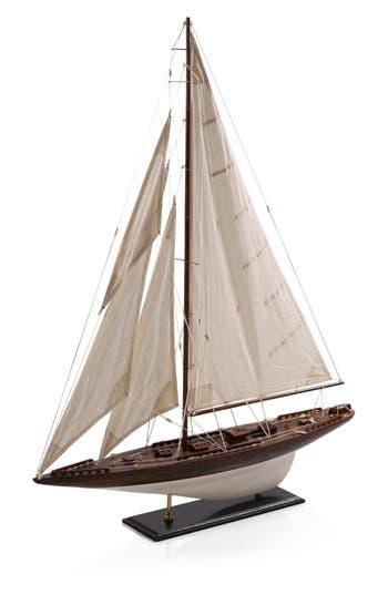 Zodax Caspian Model Sailboat, Size One Size - White