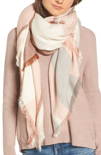 Women's Madewell Colorblock Blanket Scarf