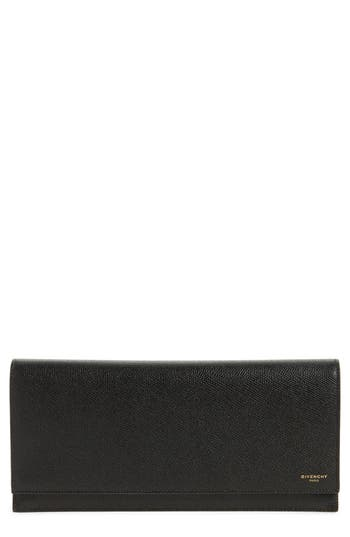 Givenchy Leather Travel Pouch - Black