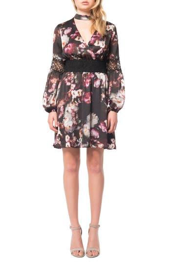 Women's Willow & Clay Floral Print Choker Dress