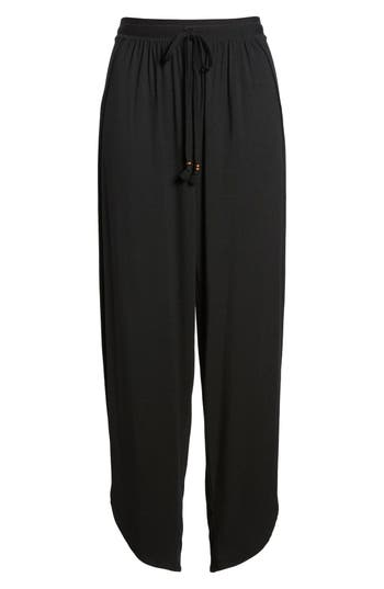 Robin Piccone Side Split Cover-Up Pants