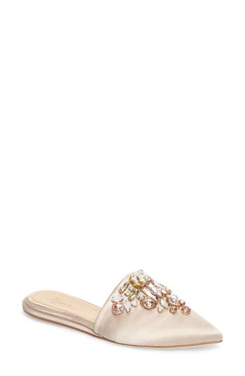 Imagine Vince Camuto Caide Embellished Mule, White