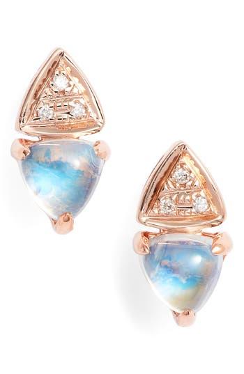 Women's Dana Rebecca Designs Diamond & Stone Stud Earrings