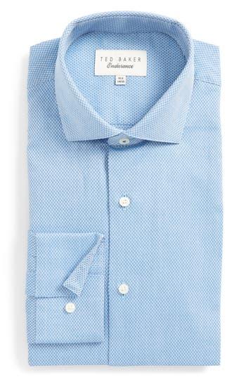 Men's Ted Baker London Endurance Trim Fit Stripe Dress Shirt