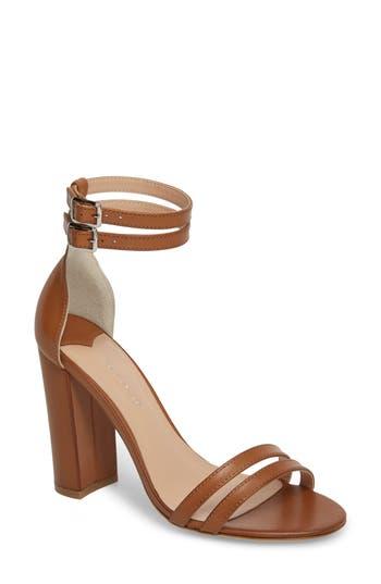 Women's Tony Bianco Kelly Block Heel Sandal, Size 10 M - Brown