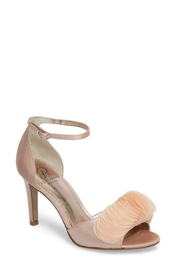 Adrianna Papell Gracie Ankle Strap Sandal- Pink