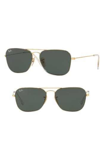 Ray-Ban Youngster 5m Aviator Sunglasses - Gold