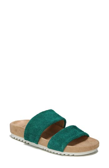 Women's Naturalizer Amabella Slide Sandal, Size 9.5 W - Green