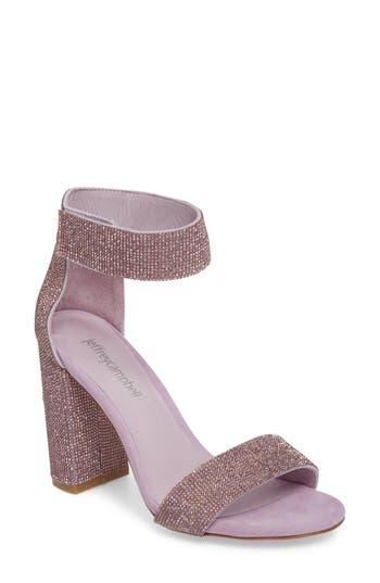 Women's Jeffrey Campbell Lindsay Sandal, Size 5 M - Purple