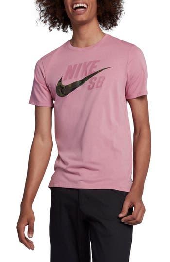 Nike Sb Dry Crewneck T-Shirt, Pink