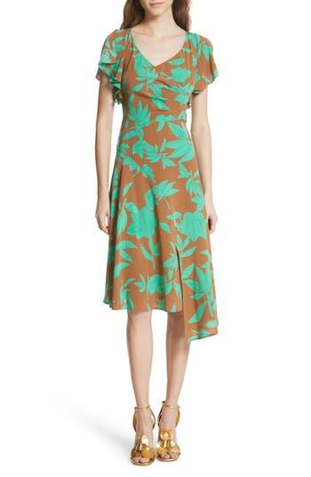 6cb4736ac4 Tracy Reese Asymmetrical Faux Wrap Dress