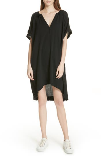 Atm Anthony Thomas Melillo Gauze Dress, Black