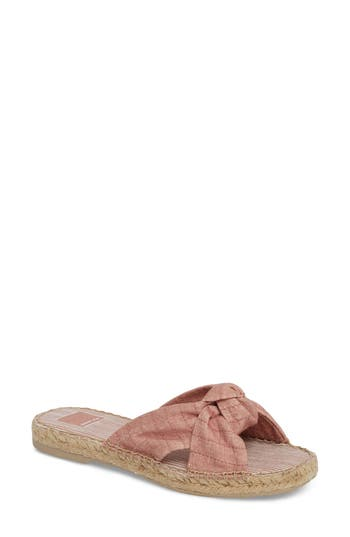 Dolce Vita Benicia Knotted Slide Sandal, Pink