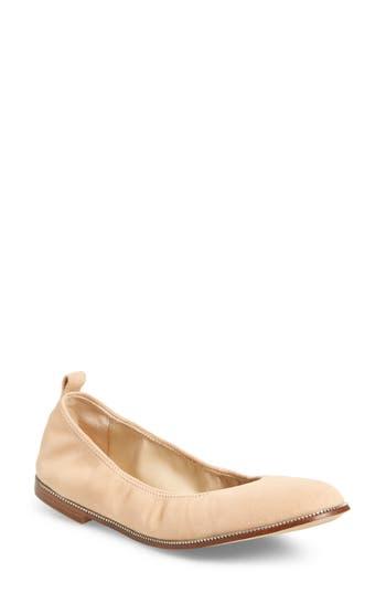 Botkier Mason Ballet Flat- Beige