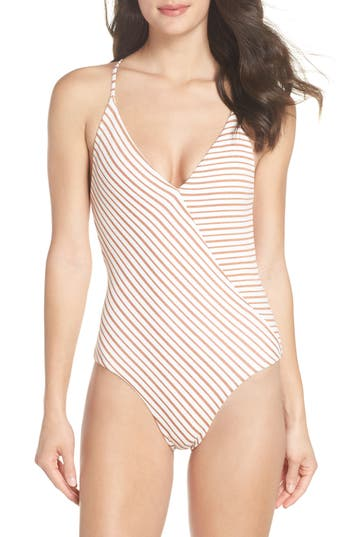 L Space Blair One-Piece Swimsuit, White