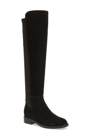 Blondo Danny Over The Knee Waterproof Boot- Black