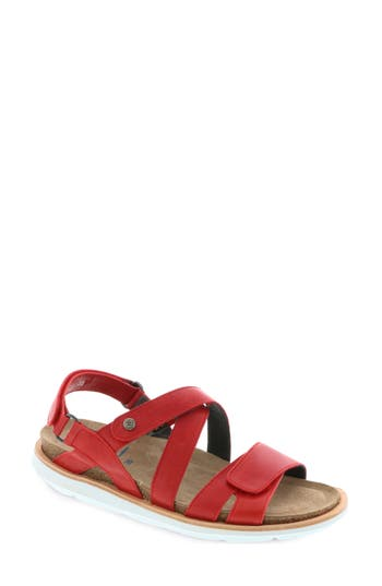 Women's Wolky Sunstone Sandal, Size 7.5-8US / 39EU - Red