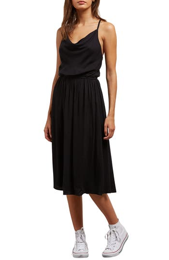Volcom Mystic Mama Dress, Black