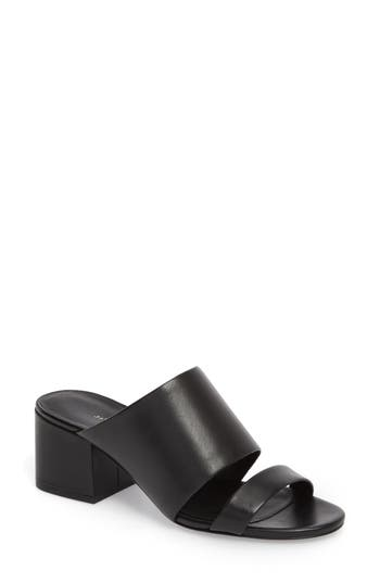 Women's 3.1 Phillip Lim Cube Strappy Slide Sandal, Size 5US / 35EU - Black