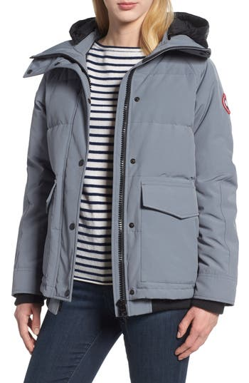 Canada Goose Deep Cove Arctic Tech Water Resistant 625 Fill Power Down Bomber Jacket, (2-4) - Grey