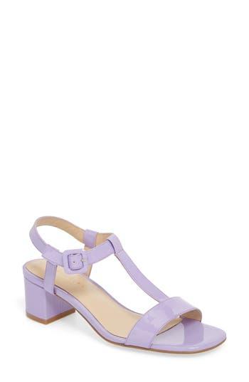 Grey City T-Strap Sandal, Purple