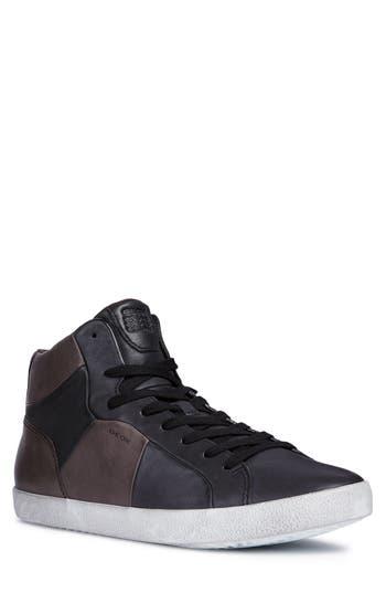 Geox Smart 84 High Top Sneaker, Black