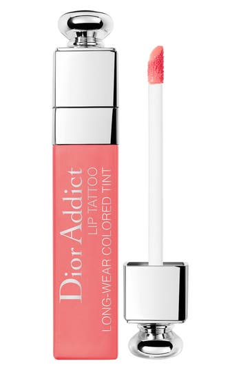 Dior Addict Lip Tattoo Long-Wearing Color Tint - Natural Peach