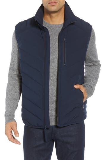 Marc New York Withers Down Vest, Blue