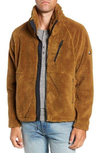 Penfield Breakheart Zip Fleece Jacket, Brown