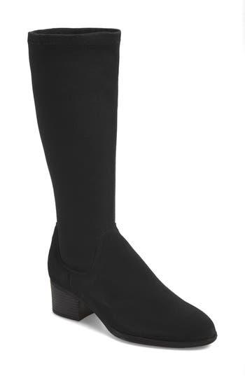 Bos. & Co. Rally Waterproof Knee-High Boot - Black