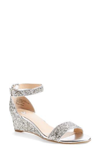 Women's Bp. 'Roxie' Wedge Sandal, Size 9.5 M - Metallic