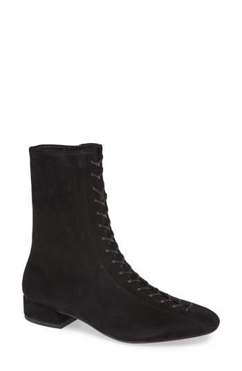 Edwardian Shoes & Boots | Titanic Shoes Womens Vagabond Joyce Lace-Up Bootie $175.00 AT vintagedancer.com